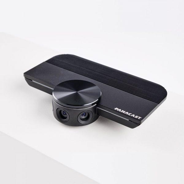 klein und handlich, natürliche 180°-Ansicht in Panorama-4K-Videoqualität und bis zu 6-fachen verlustfreien Digitalzoom