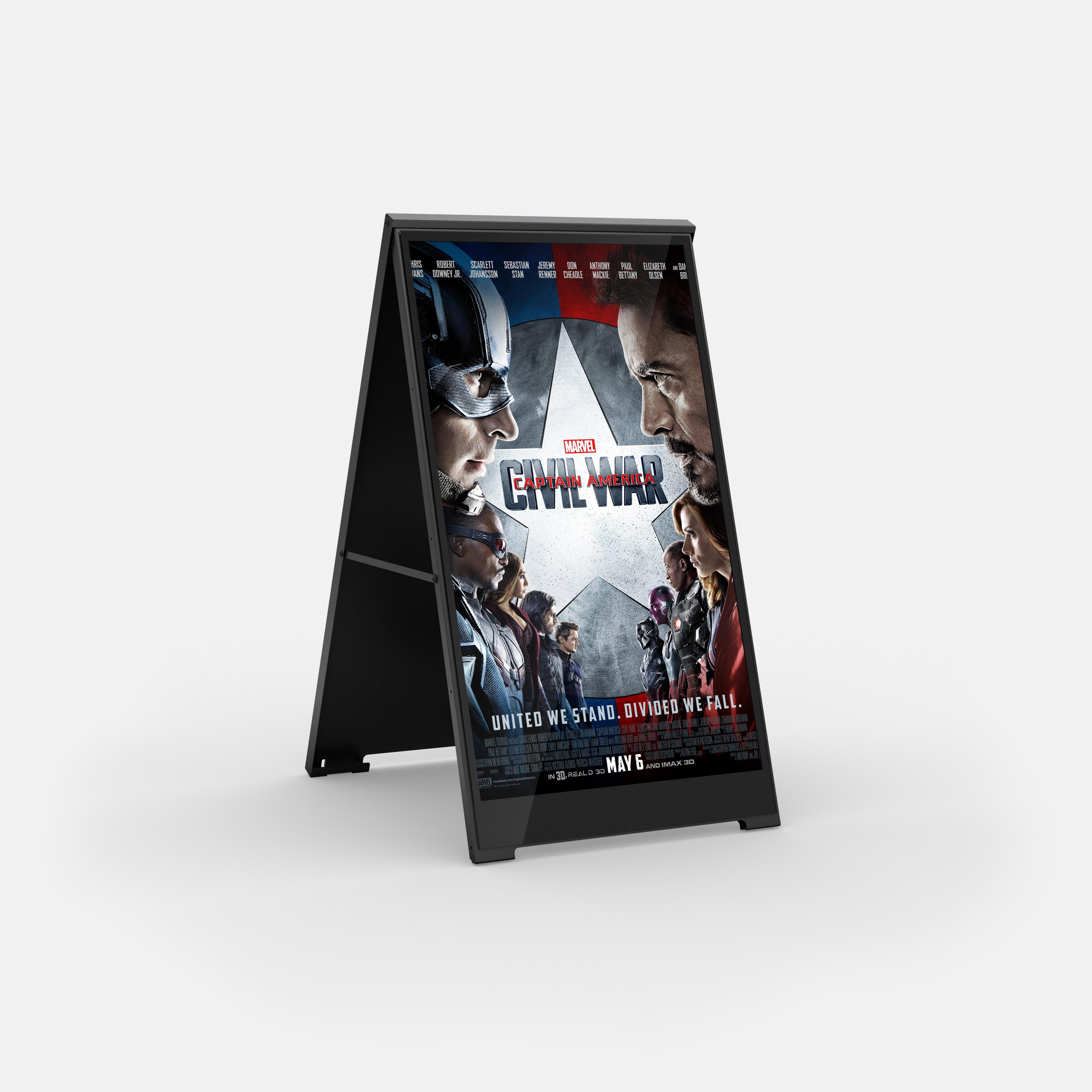 ZYGANGE LCD Poster Kundenstopper