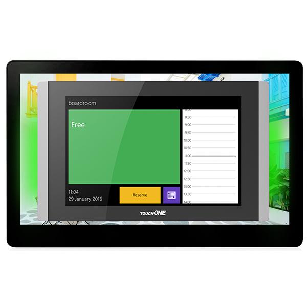 Einfach installieren und Räume per PC, mobiles Endgerät oder Touchscreen selbst reservieren! Mit CUE TouchONE.