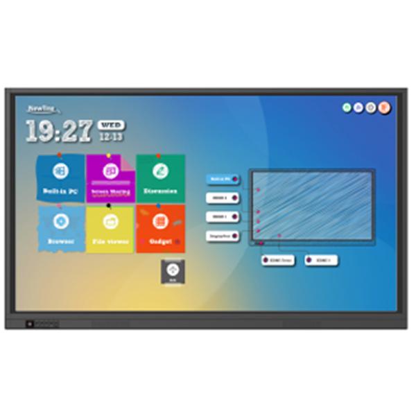 Gewünschte Software nutzen und einfach und schnell Inhalte durch die Berührung des interaktiven Displays teilen! Mit Newline RS Serie.