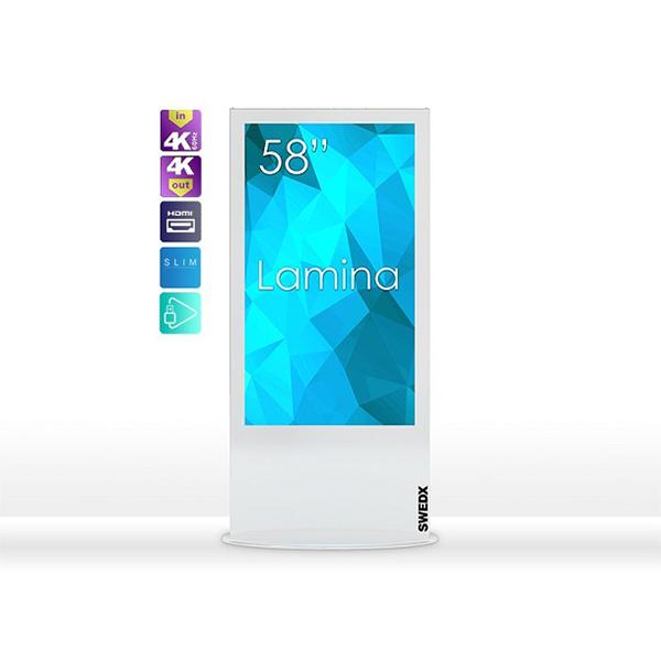 solides, dünnes Design optional mit Touch und eingebauter Player-Funktionalität