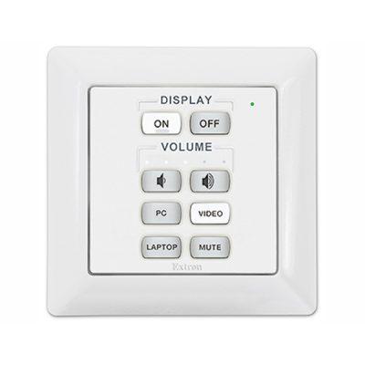 Die Verwendung von einem Tastenfeld oder die Kombination mehrerer ermöglicht eine große Vielfalt an Systemdesigns! Mit den eBUS-Tasstenfeldern.