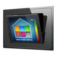 Tablet einfach in eine flexible und edle Steuerungszentrale für Licht, Audio/Video und Steuierungstechnik verwandeln! Mit iDock von iRoom.