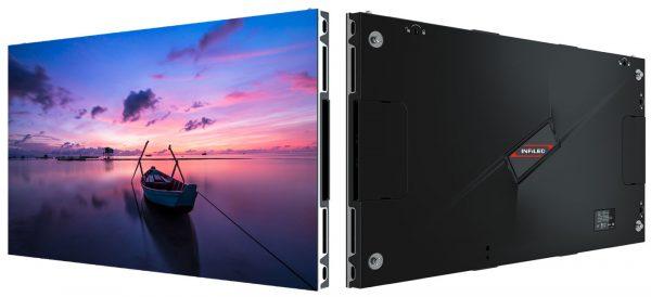 Mit den INFiLED LED-Walls kann jeder Untergrund in eine digitale Leinwand mit ultrahoher Auflösung verwandelt werden.