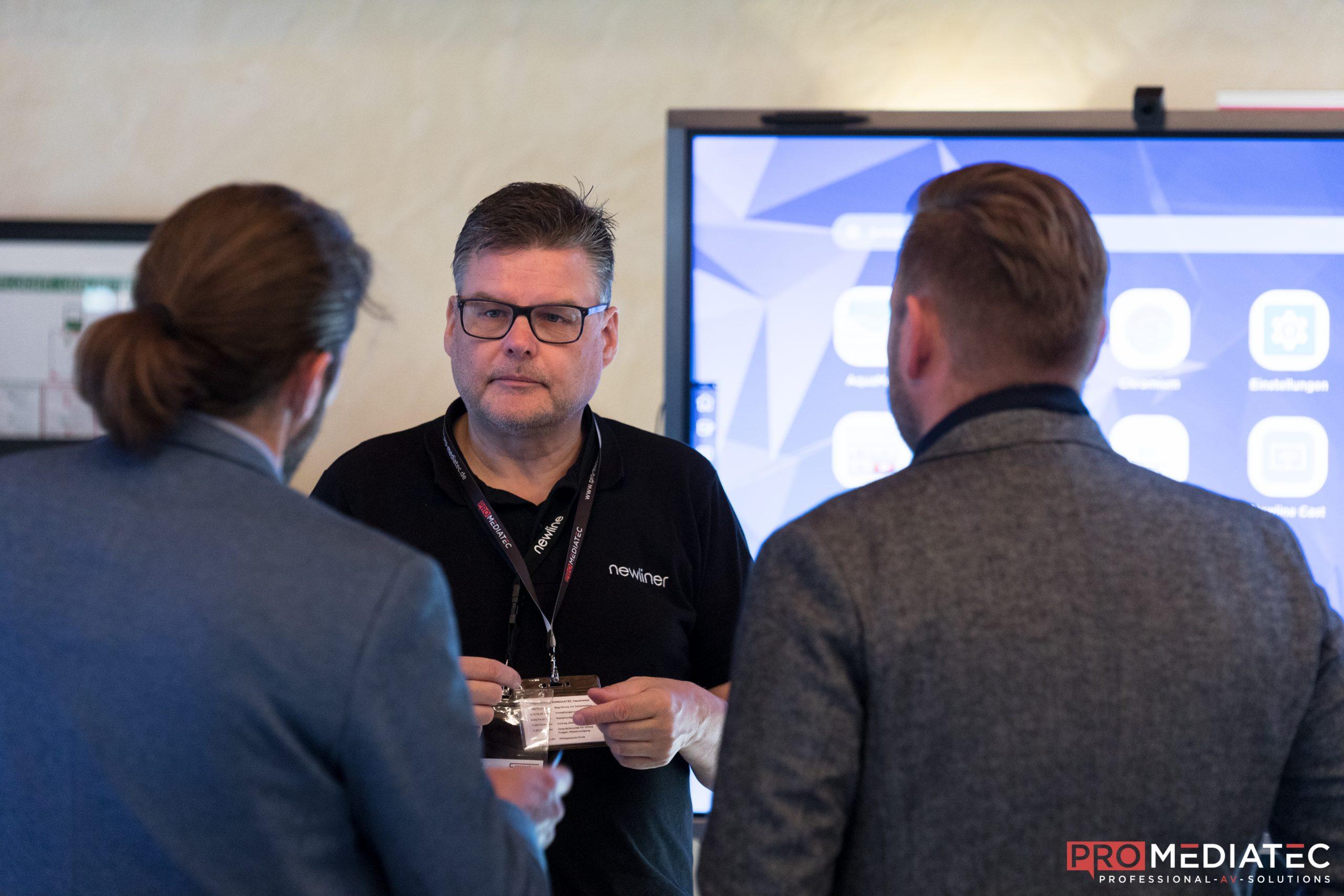 PROMEDIATEC präsentierte auf der Hausmesse im Spa & GolfResort Weimarer Land in Blankenhain aktuelle Medientechnik mit interessanten Specials.