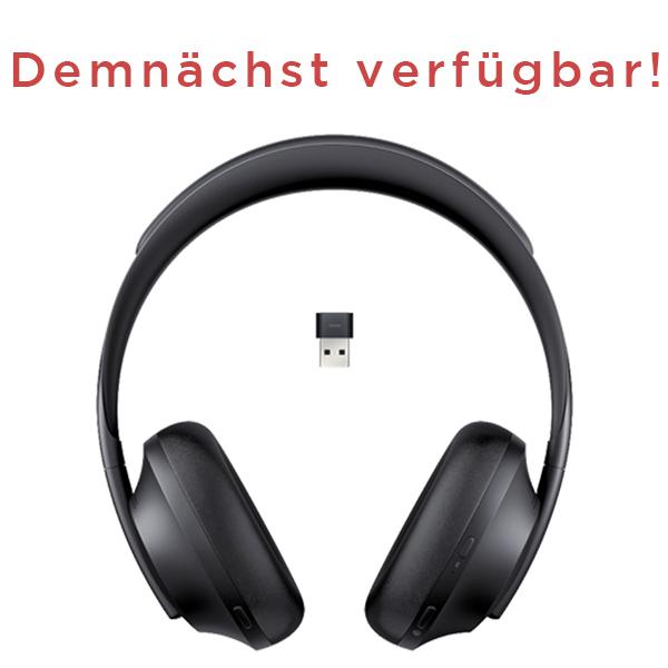 Die ganze Welt wird zu einem Konferenzraum! Mit Bose Noise Cancelling Headphones 700 UC.