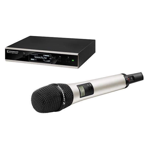 Das SpeechLine Digital Wireless von Sennheiser ist besonders vielseitig einsetzbar und kann an die Anforderungen verschiedener Anwendungen angepasst werden.