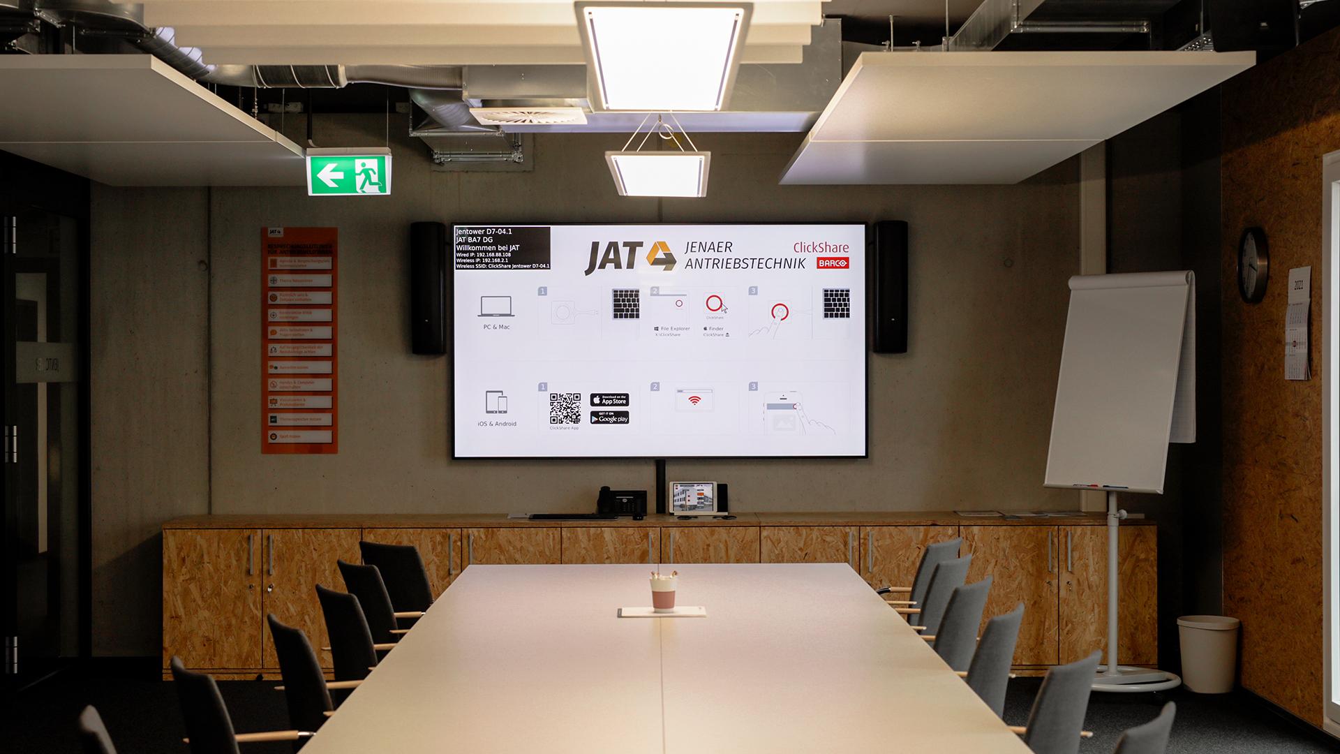 Große Konferenzraum in JAT