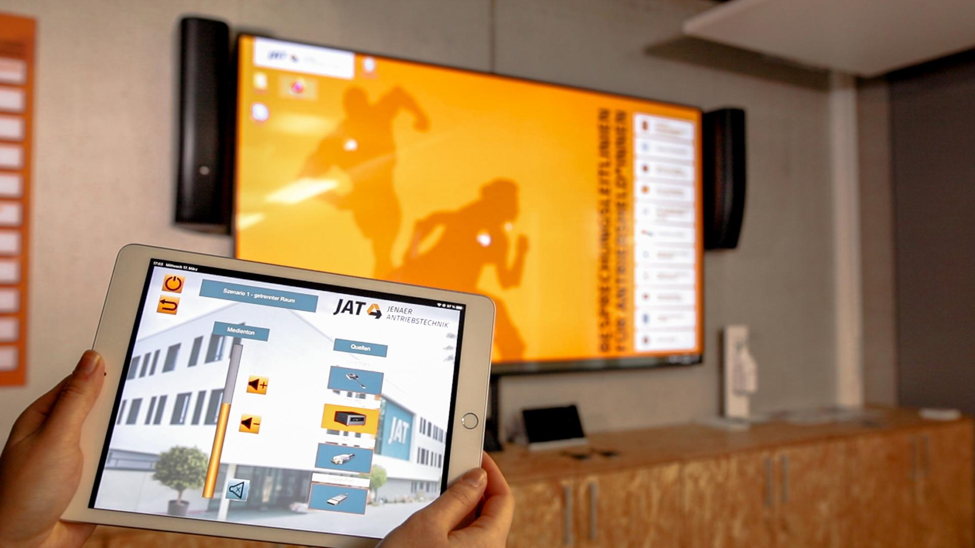 Touchpad iPad in JAT