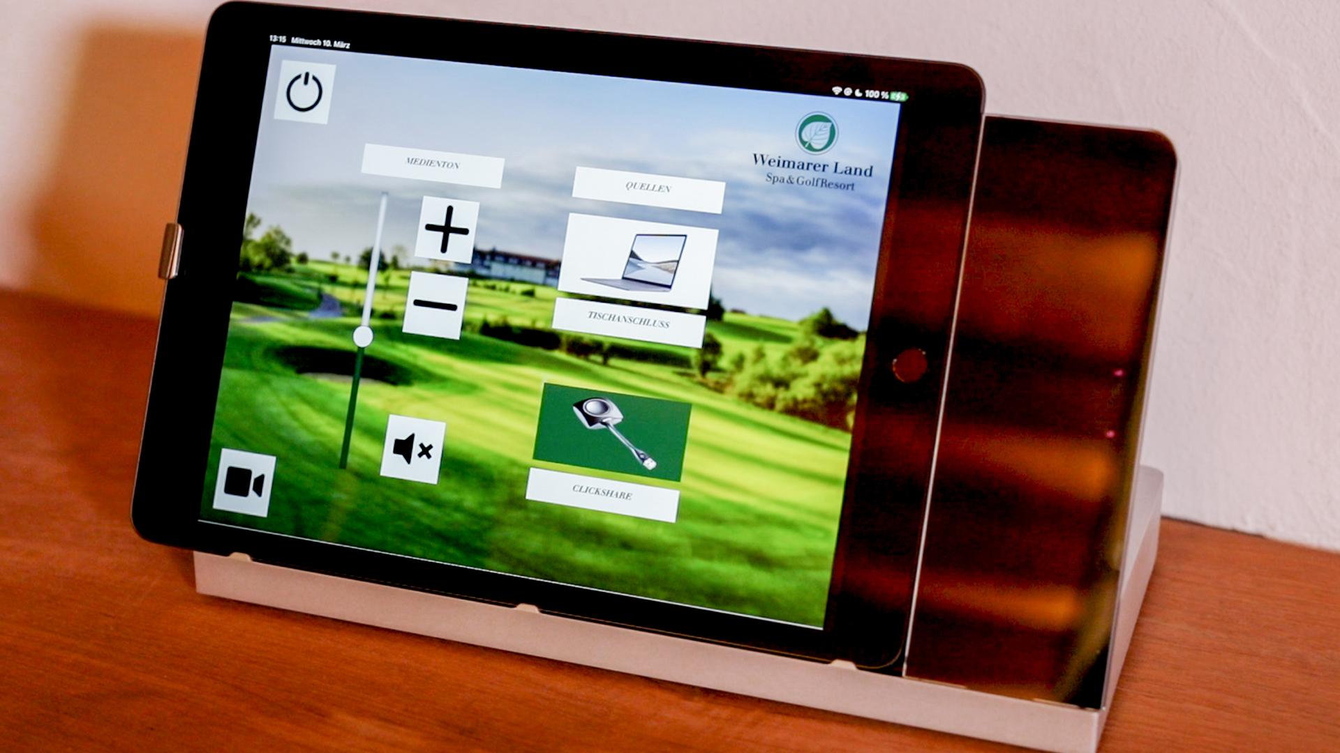 Touchpad in Spa & GolfResort Weimarer Land in Blankenhain
