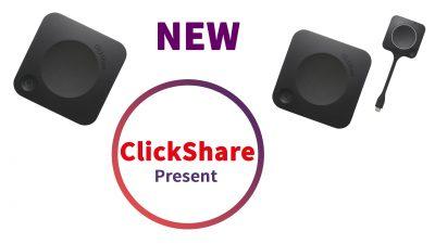 Neu ClickShare C-5 und C-10