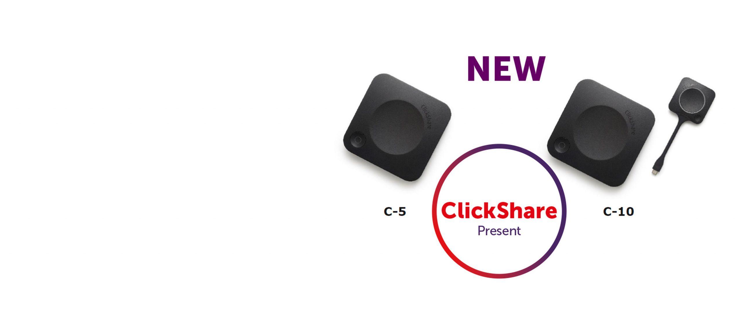 Neue ClickShare Present