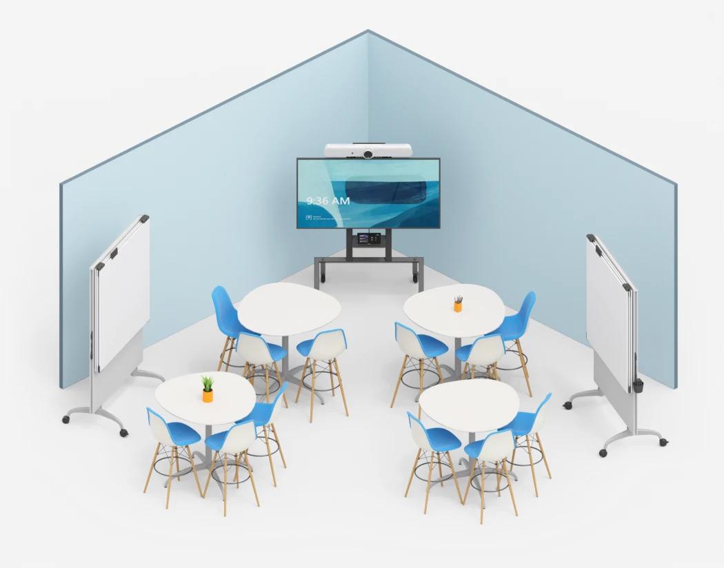 Mittelgroßer Raum für WorkShop - Raum Logitech